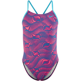 Nike Swim Wave Swimsuit Children pink